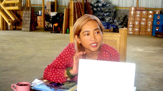 Promosikan Industri Konstruksi Bambu ke Mancanegara